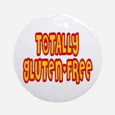 Totally Gluten-Free Ornament (Round)