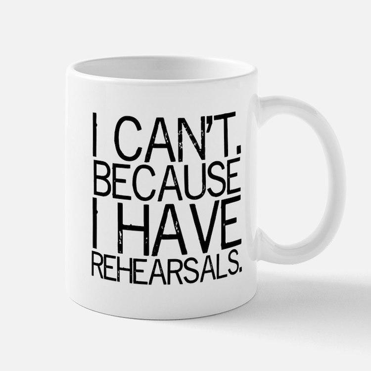 """I can't..."" 2-sided Mug"