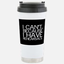 """""""I can't. Because..."""" Stainless Steel Tr"""