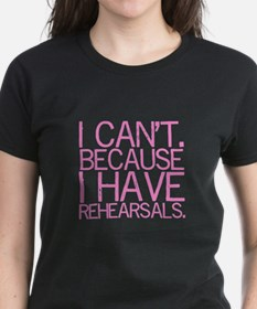"""""""I can't..."""" (pink) Tee"""