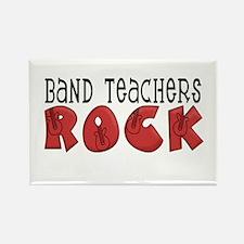 Band Teachers Rock Rectangle Magnet