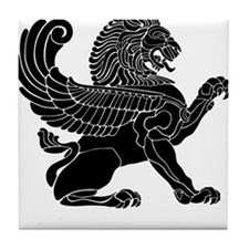 Persian Lion Tile Coaster