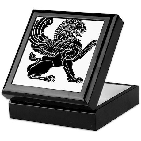 Persian Lion Keepsake Box