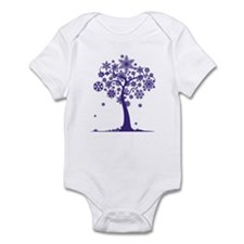 Winter Tree Infant Bodysuit