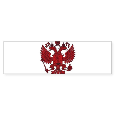 Medieval Eagle Crest Bumper Sticker