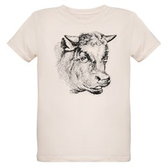 Hand Sketched Cow T-Shirt