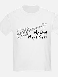 Dad Plays Bass T-Shirt