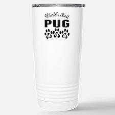 Cute Pug mom Travel Mug