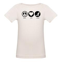 Peace Love Ferret Tee