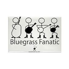 Bluegrass Fanatic Rectangle Magnet