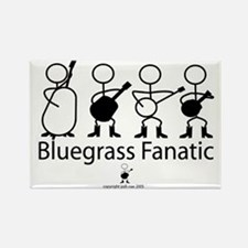 Bluegrass Fanatic Rectangle Magnet