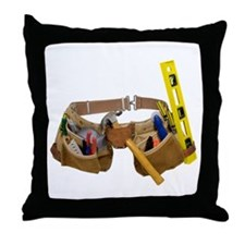 Tool belt Throw Pillow