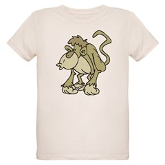 Another Retro Monkey Organic Kids T-Shirt