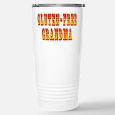 Gluten-Free Grandma Stainless Steel Travel Mug
