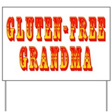 Gluten-Free Grandma Yard Sign