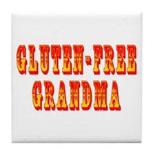 Gluten-Free Grandma Tile Coaster