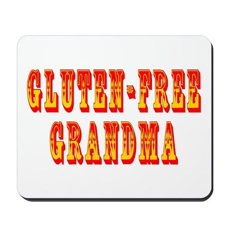 Gluten-Free Grandma Mousepad