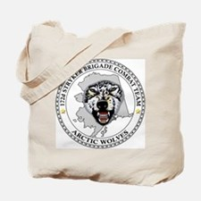 172nd Stryker Brigade <BR>Arctic Wolves Tote Bag