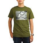 Helmet Pigeons Organic Men's T-Shirt (dark)