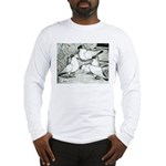 Helmet Pigeons Long Sleeve T-Shirt