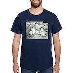 Helmet Pigeons Dark T-Shirt