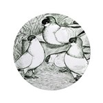"Helmet Pigeons 3.5"" Button (100 pack)"