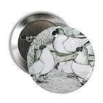 "Helmet Pigeons 2.25"" Button"