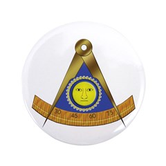 "Symbol of the Past Master 3.5"" Button"