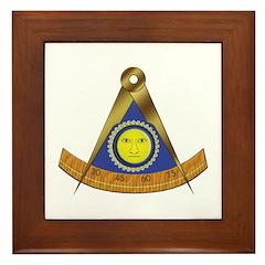 Symbol of the Past Master Framed Tile