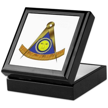 Symbol of the Past Master Keepsake Box