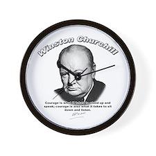 Winston Churchill 01 Wall Clock
