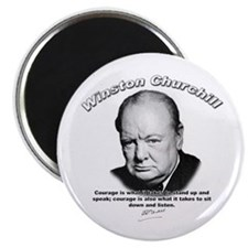 Winston Churchill 01 Magnet