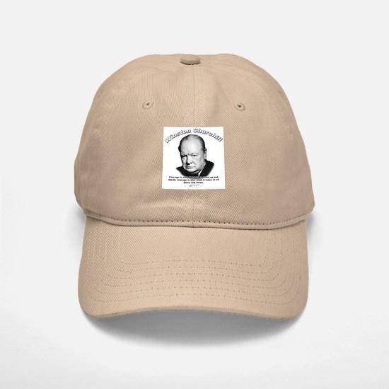 Winston Churchill 01 Baseball Baseball Cap