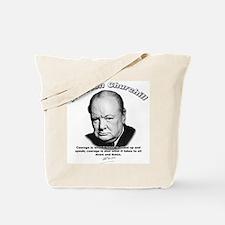 Winston Churchill 01 Tote Bag
