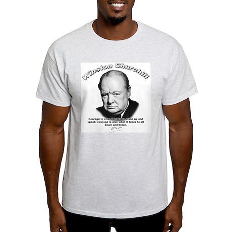 Winston Churchill 01 Ash Grey T-Shirt