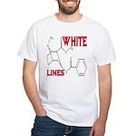 WHITE LINES White T-Shirt