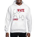WHITE LINES Hooded Sweatshirt