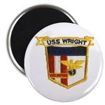 """USS WRIGHT 2.25"""" Magnet (10 pack)"""