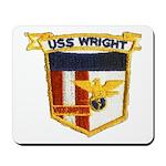 USS WRIGHT Mousepad