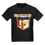 USS WRIGHT Kids Dark T-Shirt