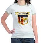 USS WRIGHT Jr. Ringer T-Shirt