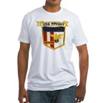 USS WRIGHT Fitted T-Shirt