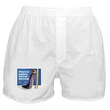 Heel Fetish Boxer Shorts