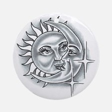 Lovers Moon Ornament (Round)