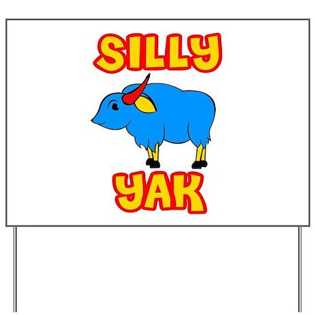 Silly Yak Celiac Yard Sign