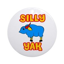 Silly Yak Celiac Ornament (Round)