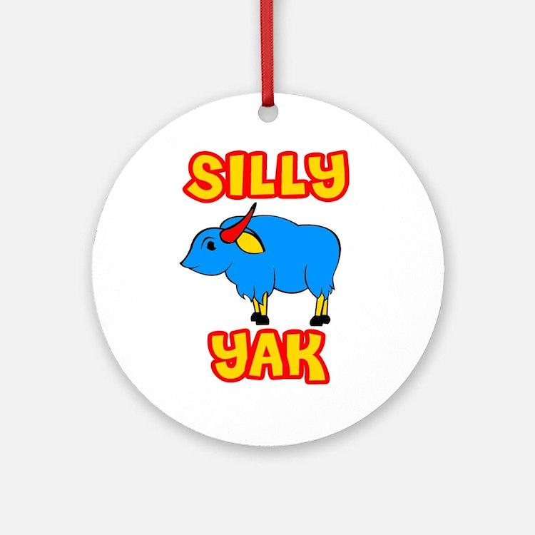 Silly Yak Celiac Ornament (Round)