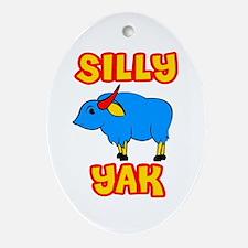 Silly Yak Celiac Oval Ornament