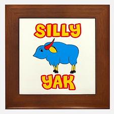 Silly Yak Celiac Framed Tile