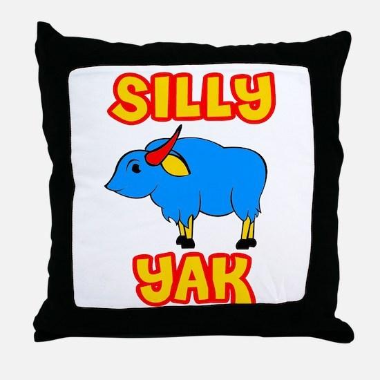 Silly Yak Celiac Throw Pillow